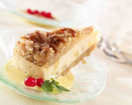 Cheesecake-pomme-caramel-crumble-patisseries-americaines