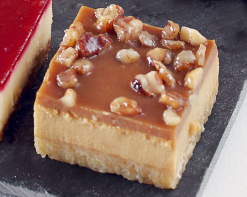 mini-cheesecake-caramel-pecan